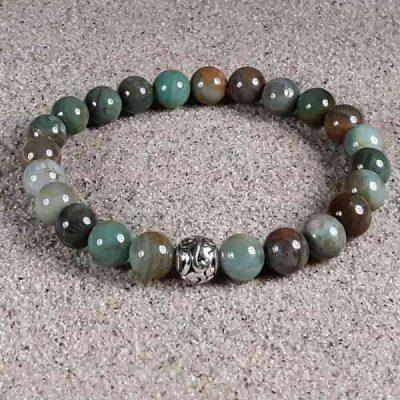 African Jade Healing Energy Stretch Bracelet