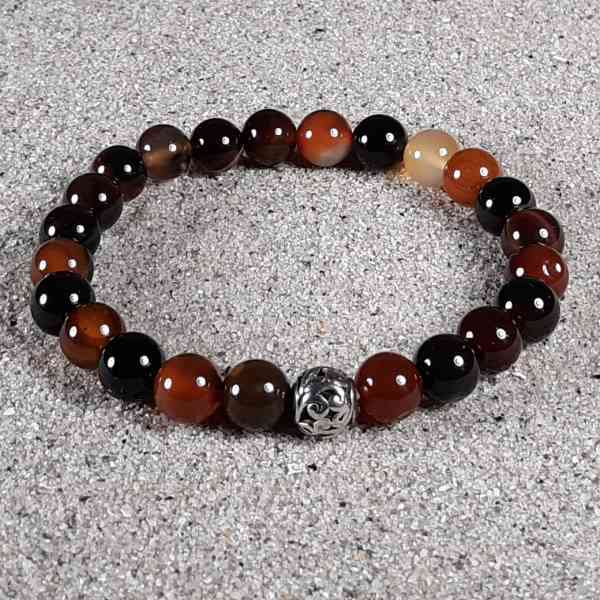 Agate Healing Energy Stretch Bracelet