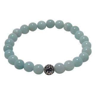 Amazonite Healing Energy Bracelet (stretch)