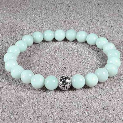 Amazonite Healing Energy Stretch Bracelet