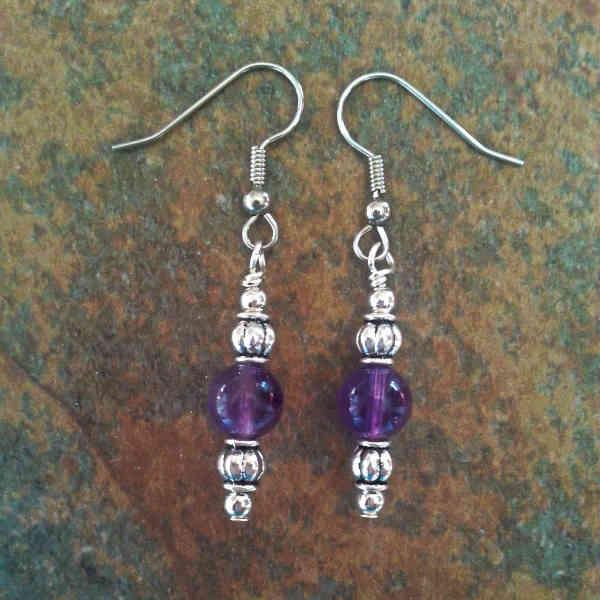 Amethyst Earrings