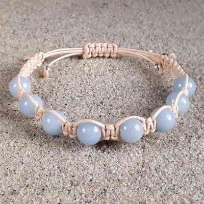 Angelite Healing Energy Bracelet