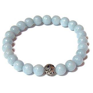 Angelite Healing Energy Stretch Bracelet