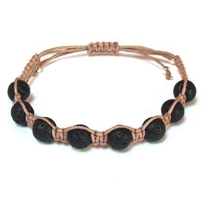 Black Lava Healing Energy Bracelet
