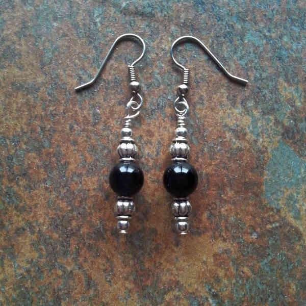 Black Onyx Earrings