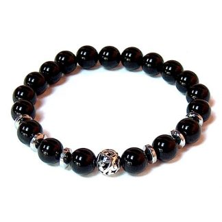 Black Onyx Healing Energy Stretch Bracelet