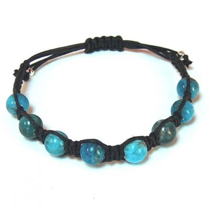 Natural Blue Apatite Healing Energy Bracelet