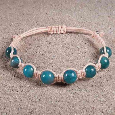 Blue Apatite Healing Energy Bracelet
