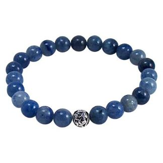 Blue Aventurine Healing Energy Bracelet (stretch)