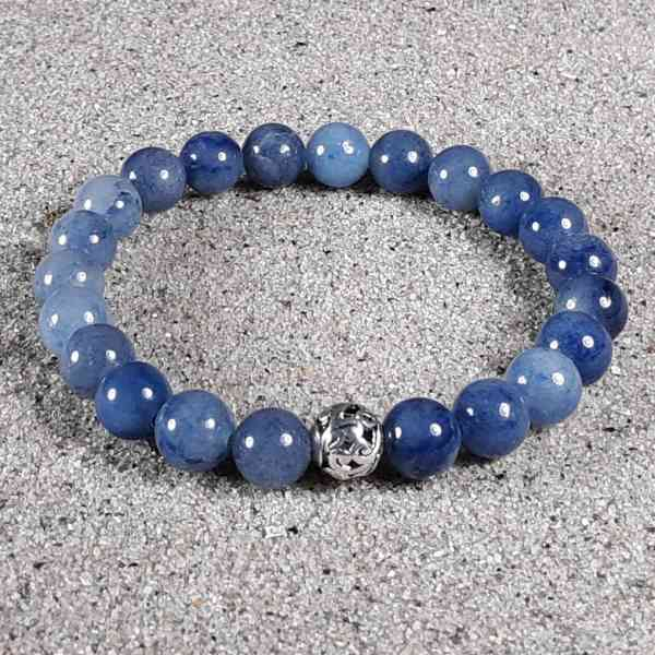 Blue Aventurine Healing Energy Stretch Bracelet