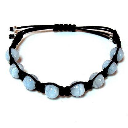 Blue Chalcedony Healing Energy Bracelet