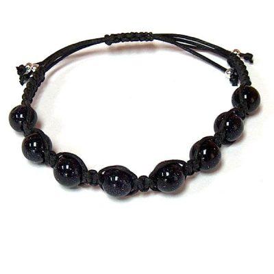 Blue Goldstone Healing Energy Bracelet