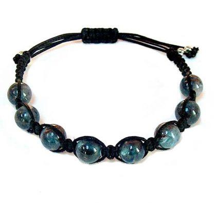 Blue Kyanite Healing Energy Bracelet