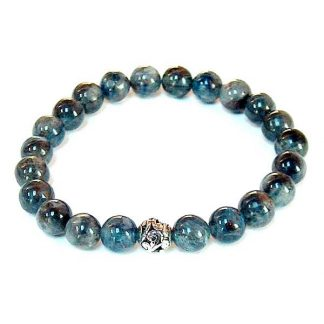Blue Kyanite Healing Energy Stretch Bracelet