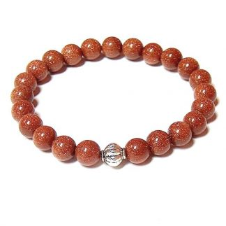 Brown Goldstone Healing Energy Stretch Bracelet