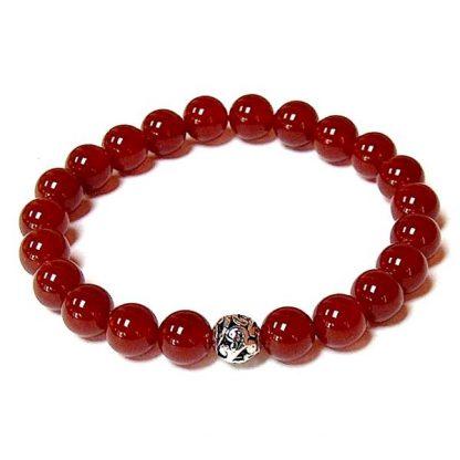 Carnelian Healing Energy Stretch Bracelet