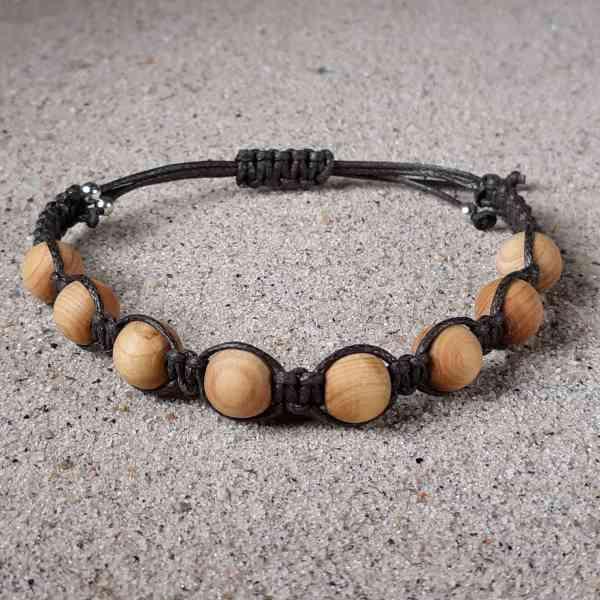 Cedarwood Healing Energy Bracelet