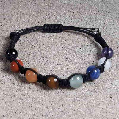 Gemstone Chakra Balance Bracelet