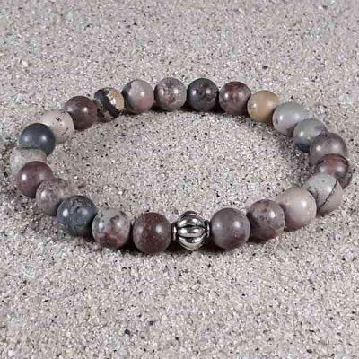 Chohua Jasper Healing Energy Stretch Bracelet
