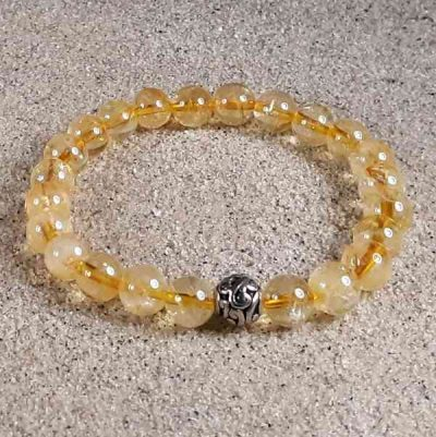 Citrine Healing Energy Stretch Bracelet