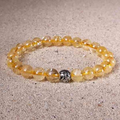 Citrine Healing Energy Stretch Bracelet