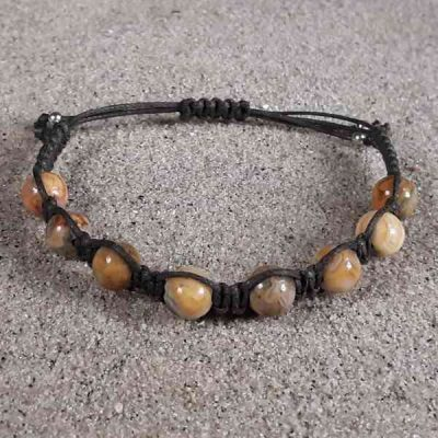 Crazy Lace Agate Healing Energy Bracelet