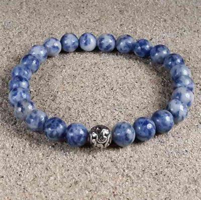 Denium Sodalite Healing Energy Bracelet