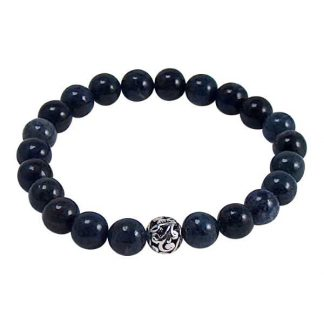 Dumorterite Healing Energy Bracelet (stretch)