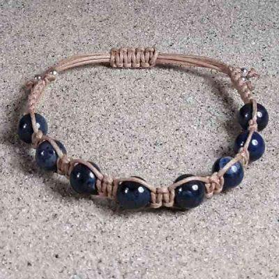 Dumortierite Healing Energy Bracelet