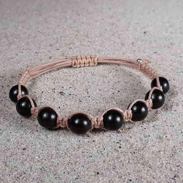 Ebony Wood Healing Energy Bracelet