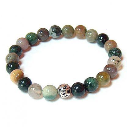 Fancy Jasper Healing Energy Stretch Bracelet