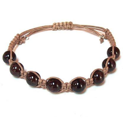 Garnet Healing Energy Bracelet