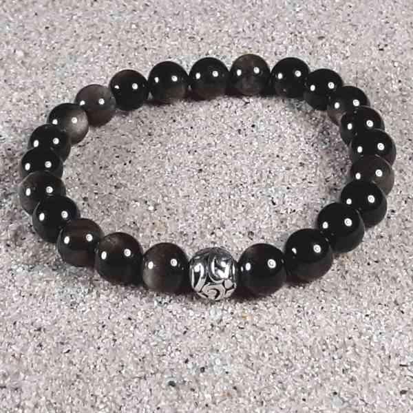 Golden Obsidian Healing Energy Stretch Bracelet