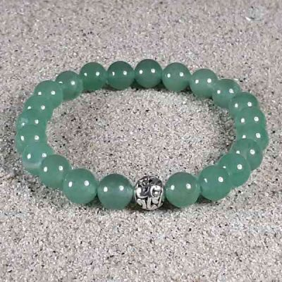 Green Aventurine Healing Energy Stretch Bracelet