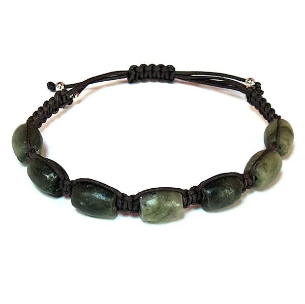 Green Serpentine Healing Energy Bracelet
