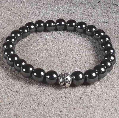 Hematite Healing Energy Stretch Bracelet