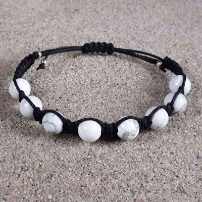 Howlite Healing Energy Bracelet