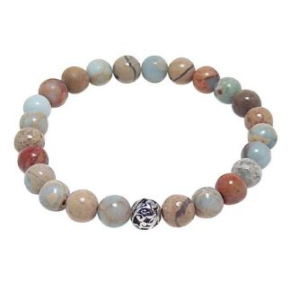 Impression Jasper Healing Energy Bracelet (stretch)