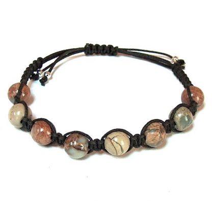 Impression Jasper Healing Energy Bracelet