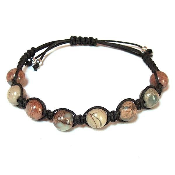 a13998c3c9a Impression Jasper Bracelet | Mystic Zen Healing Energy Jewelry ...