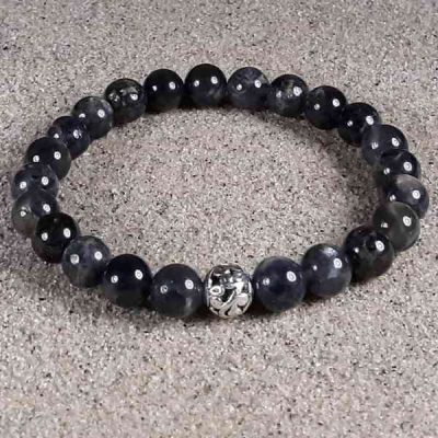 Iolite Healing Energy Stretch Bracelet
