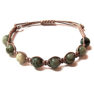 Jungle Jasper Healing Energy Bracelet