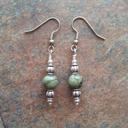 Jungle Jasper Earrings