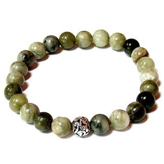 Jungle Jasper Healing Energy Stretch Bracelet