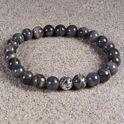 Labradorite Healing Energy Stretch Bracelet
