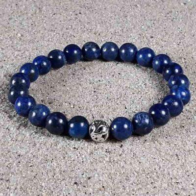 Lapis Healing Energy Stretch Bracelet