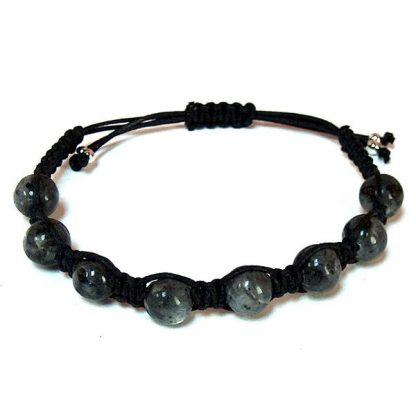 Larvikite Healing Energy Bracelet
