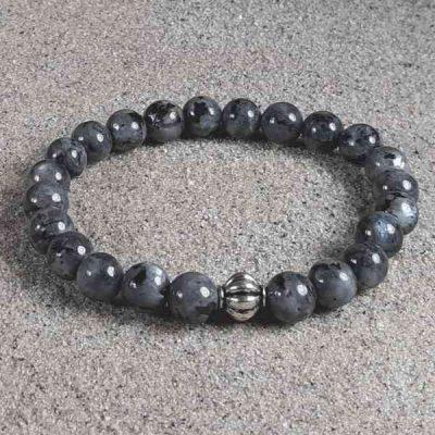 Larvikite Healing Energy Stretch Bracelet
