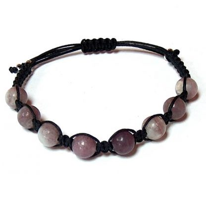 Lilac Stone Healing Energy Bracelet