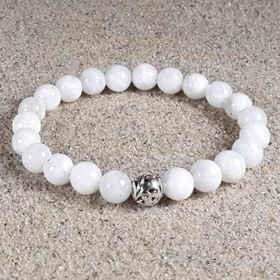 Moonstone Healing Energy Stretch Bracelet